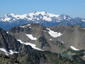 Photograph of Mount Olympus from Grandview Peak